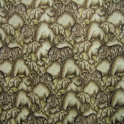 Animals in brown by Fabricland