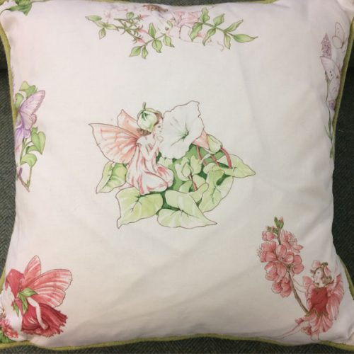 Fairies Cushion by Honor Murray Interiors