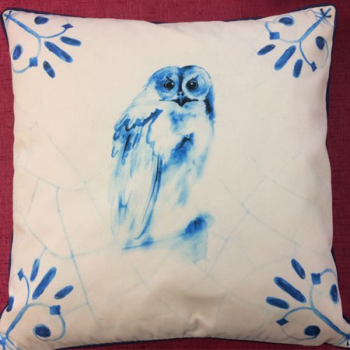 Owl Blue by Libra