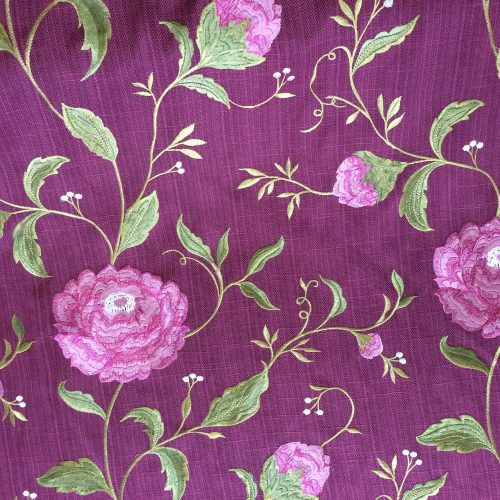 Plum Embroidery