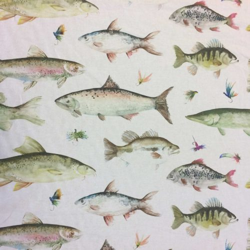 River Fish Large in Cream by Voyage
