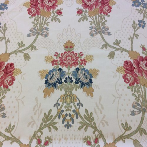 Bergamo by Zoffany in Cream fabric pattern