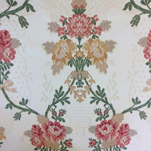 Bergamo by Zoffany in Yellow wide view of pattern