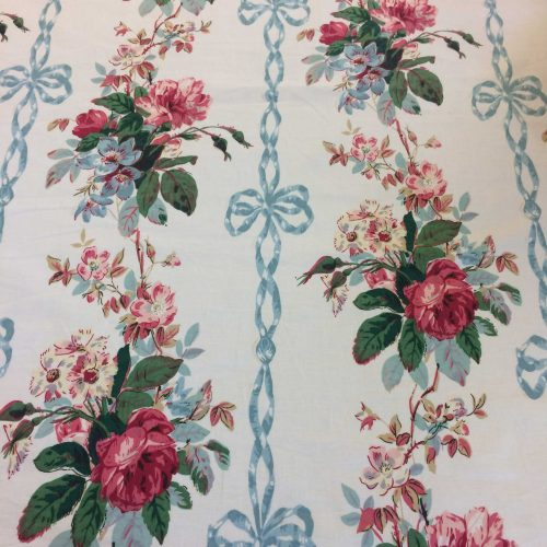 Geraldine Blue Ribbon by Jean Monro Ltd flower and ribbon design