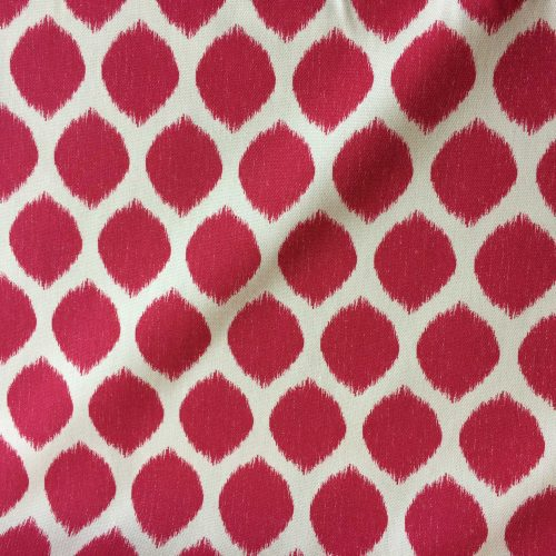 Ikat Pink by Sandown & Bourne fabric on the roll