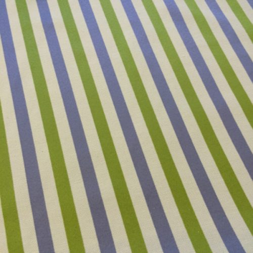 Candy Stripes in Green & Lilac