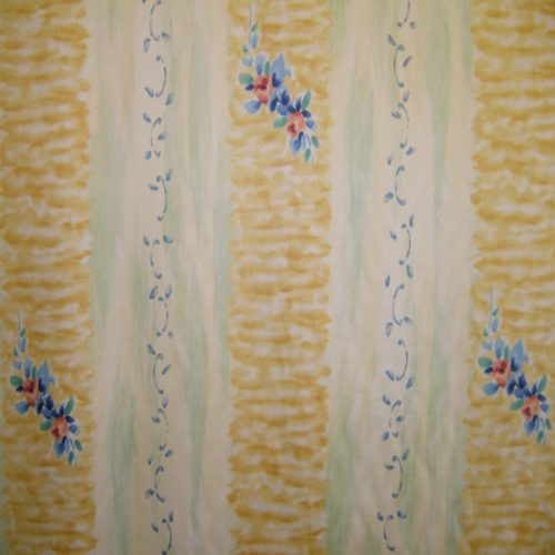 Sugar Stripe in Yellow & Mint by Anna French