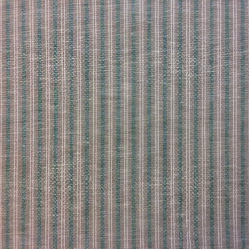 Fresh Stripe - Linen cotton blend fabric