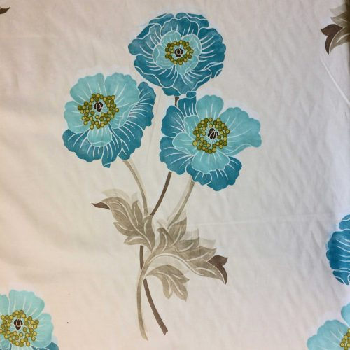 Allegra Blue by Villa Nova full floral pattern