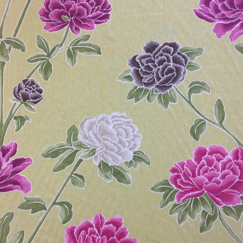 Miya by Harlequin floral pattern fabric on the roll